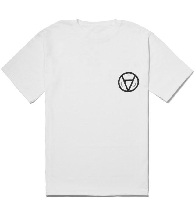 Us Versus Them White V Anarchy T-Shirt