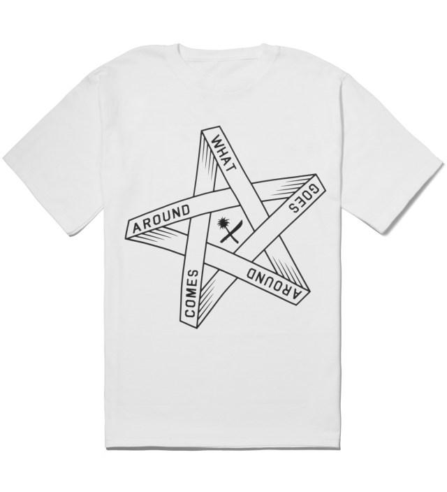 Us Versus Them White Goes Around T-Shirt