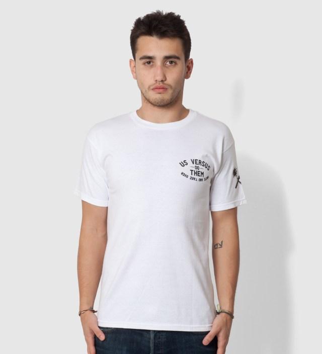 Us Versus Them White Riot Squad 3 T-Shirt