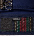 Head Porter Navy/Gray Key Case