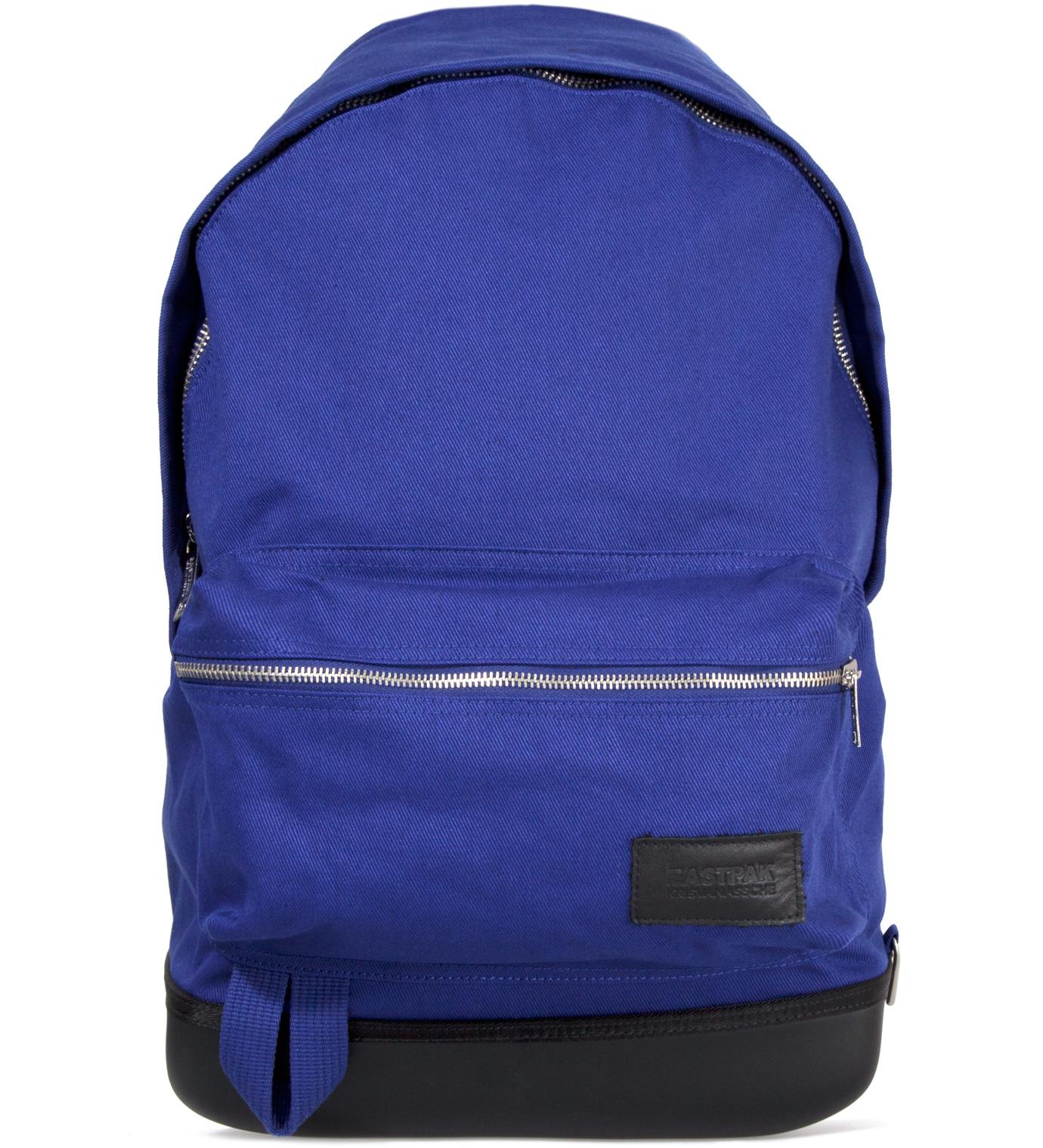 KRISVANASSCHE Eastpak KRISVANASSCHE Blue Cotton Backpack