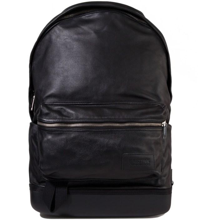 KRISVANASSCHE Eastpak KRISVANASSCHE Black Leather Backpack