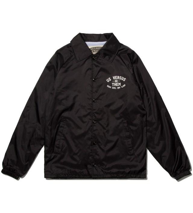 Us Versus Them Black Elsinore Jacket