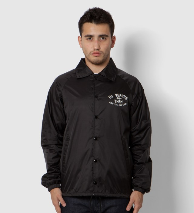 Us Versus Them Black Elsinore Jacket