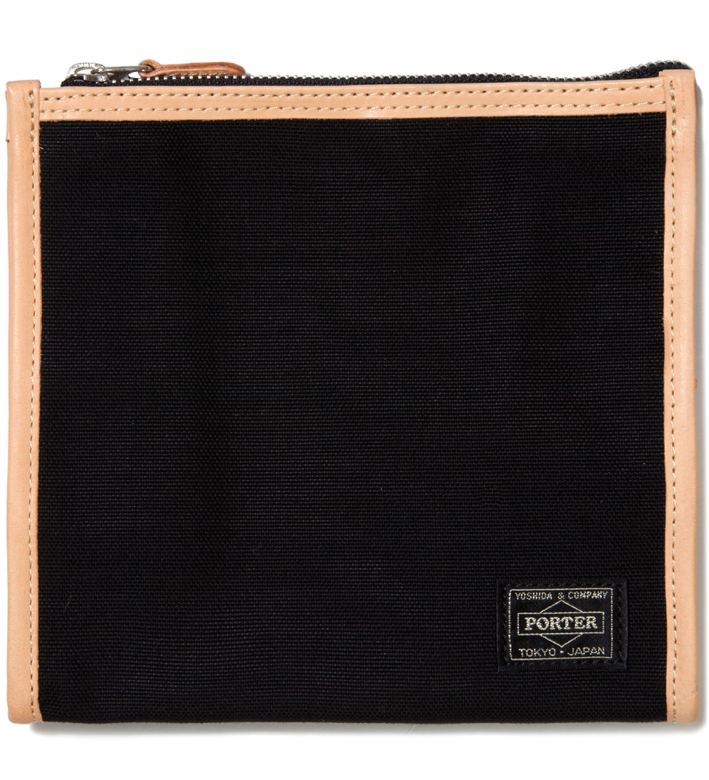 Head Porter Black LX x Canvas Grooming Pouch
