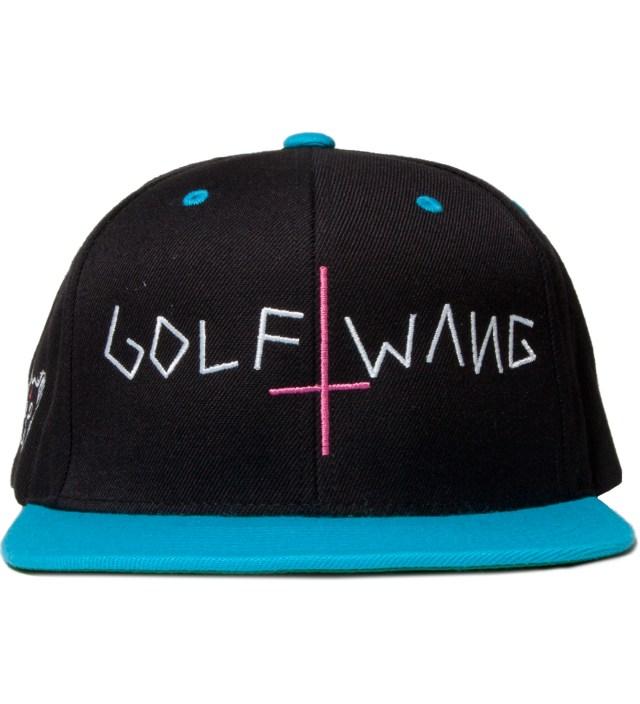 Odd Future Navy/Turquoise Golf Wang Snapback Cap
