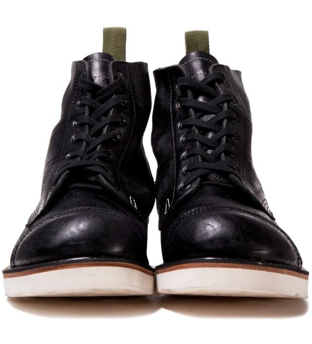 "BEDWIN & THE HEARTBREAKERS Stussy x The Heartbreaker Black ""Vincent"" Parachute Boots"