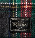 Head Porter Navy/Gray Lesson Wallet (S)