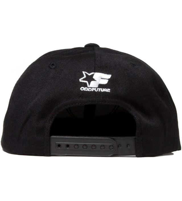 Odd Future Black OF Donut Snapback Cap
