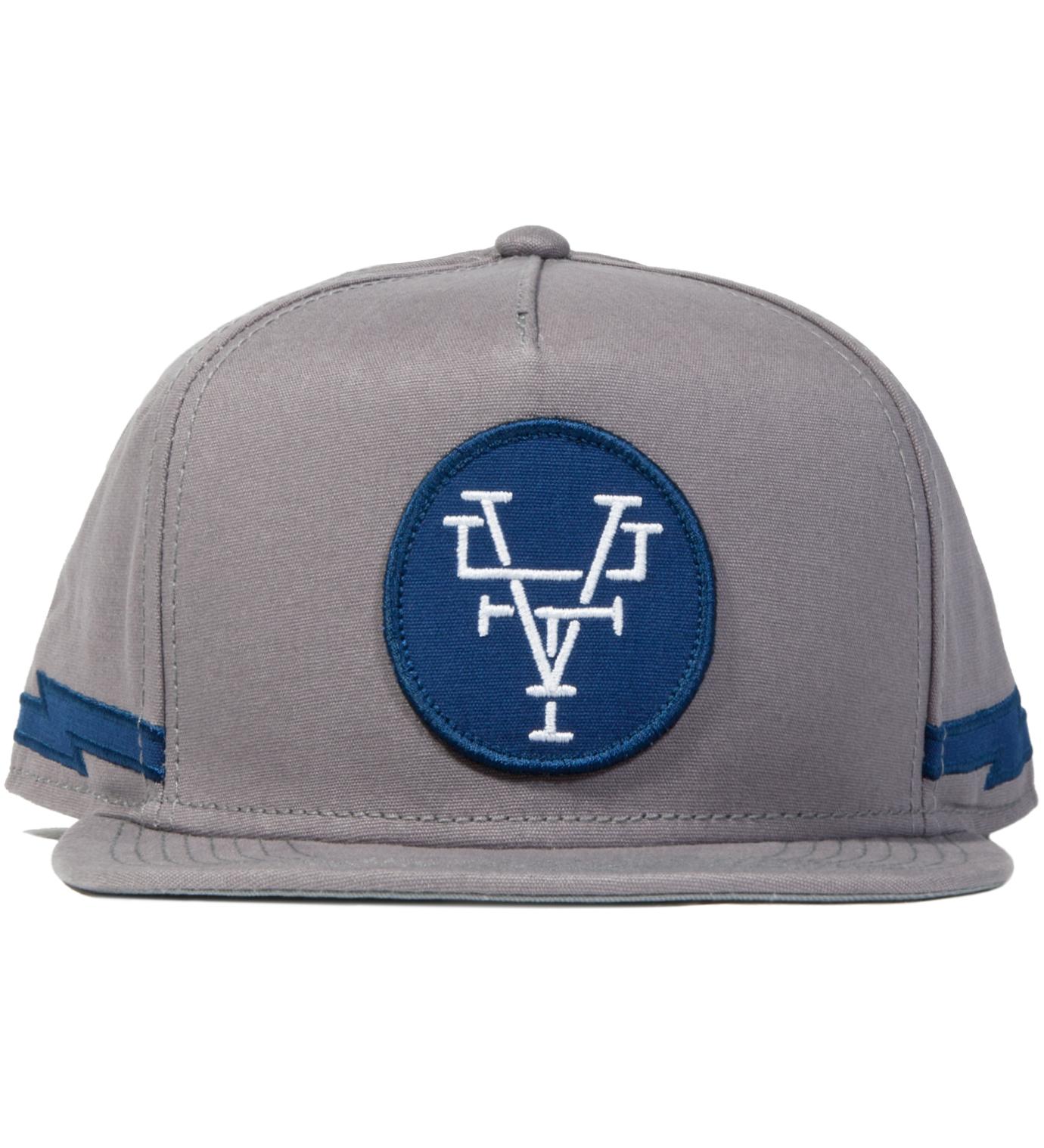 Us Versus Them Grey Branded Snapback Ballcap