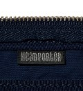 Head Porter Navy/Gray Pen Case