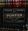 Head Porter Navy/Gray Pen Case