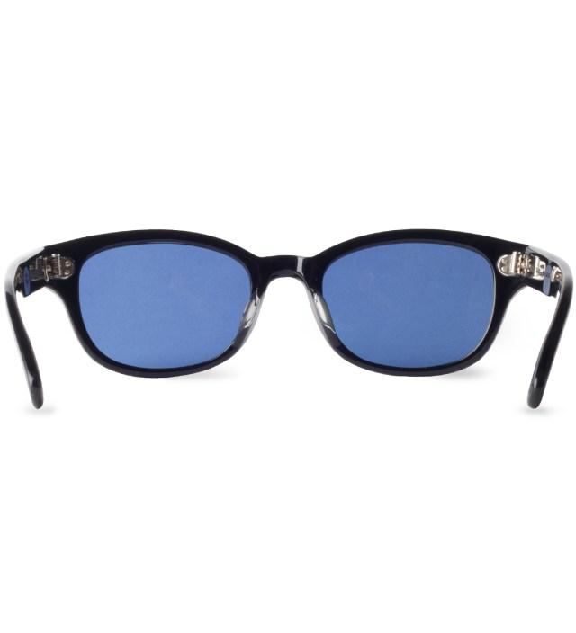 """BEDWIN & THE HEARTBREAKERS Stussy x The Heartbreakers Black """"DJ Jules"""" Eye Gear Sunglasses"""