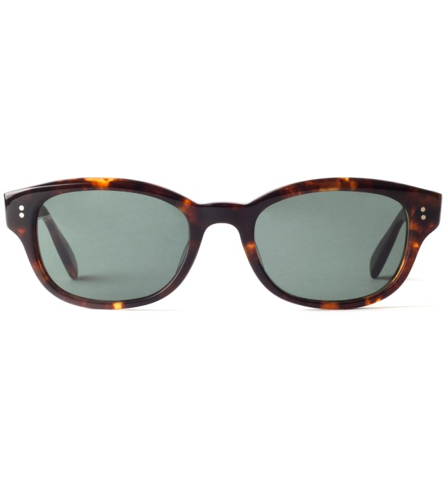 "BEDWIN & THE HEARTBREAKERS Stussy x The Heartbreakers Brown ""DJ Jules"" Eye Gear Sunglasses"