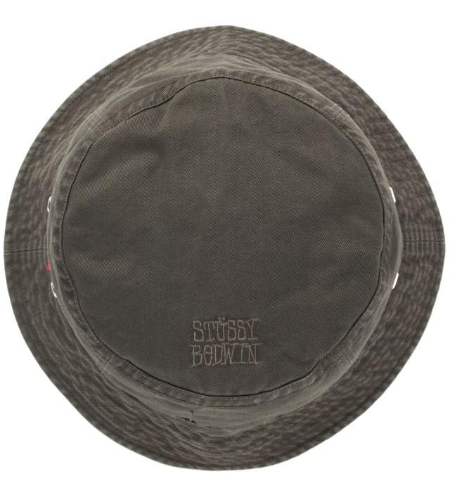 "BEDWIN & THE HEARTBREAKERS Stussy x The Heartbreakers O.D ""James"" Canvas Jungle Hat"