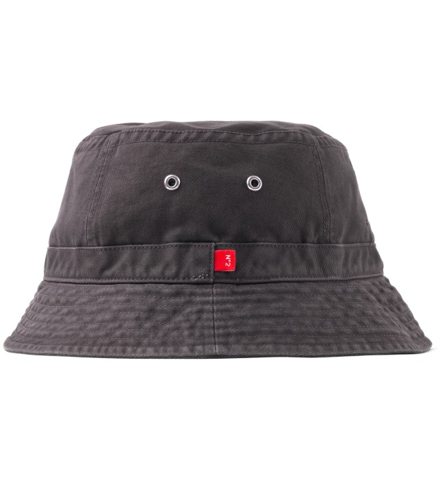 "BEDWIN & THE HEARTBREAKERS Stussy x The Heartbreakers Grey ""James"" Canvas Jungle Hat"