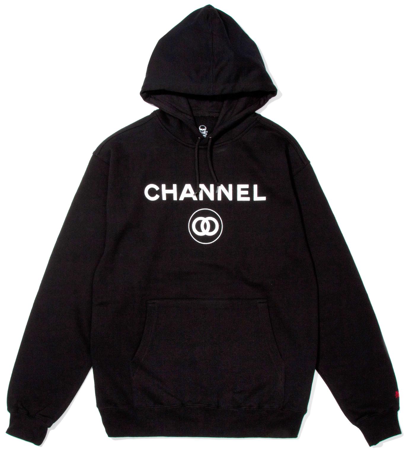 SSUR Black Channel Zero Hoodie