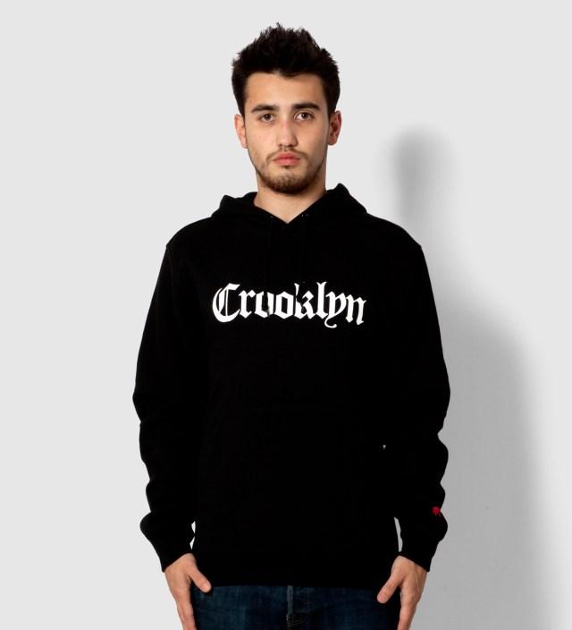 SSUR Black Crooklyn Hoodie