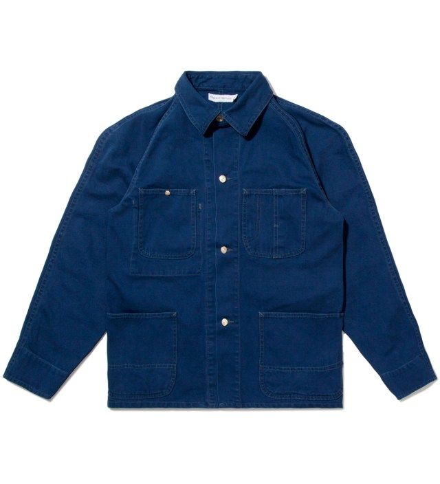 Head Porter Plus Navy Duck Coverall Jacket