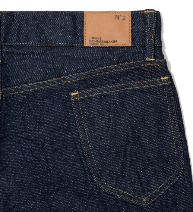 "BEDWIN & THE HEARTBREAKERS Indigo Bedwin Original Fit ""Mike"" Denim Jeans"