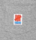 UNDEFEATED Heather Grey Fighting Pocket Long Sleeve T-Shirt