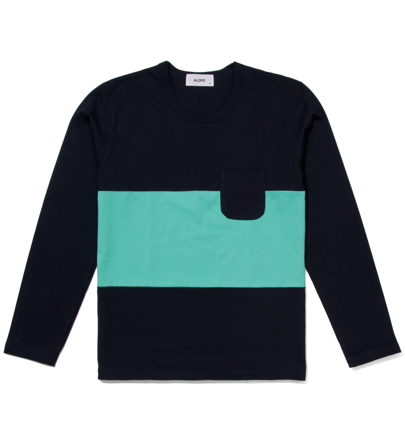 Aloye Tricolor #9 Long Sleeve T-Shirt