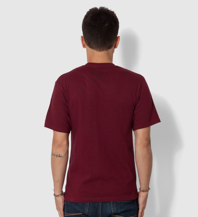 Us Versus Them Wine Magnum Tonal T-Shirt