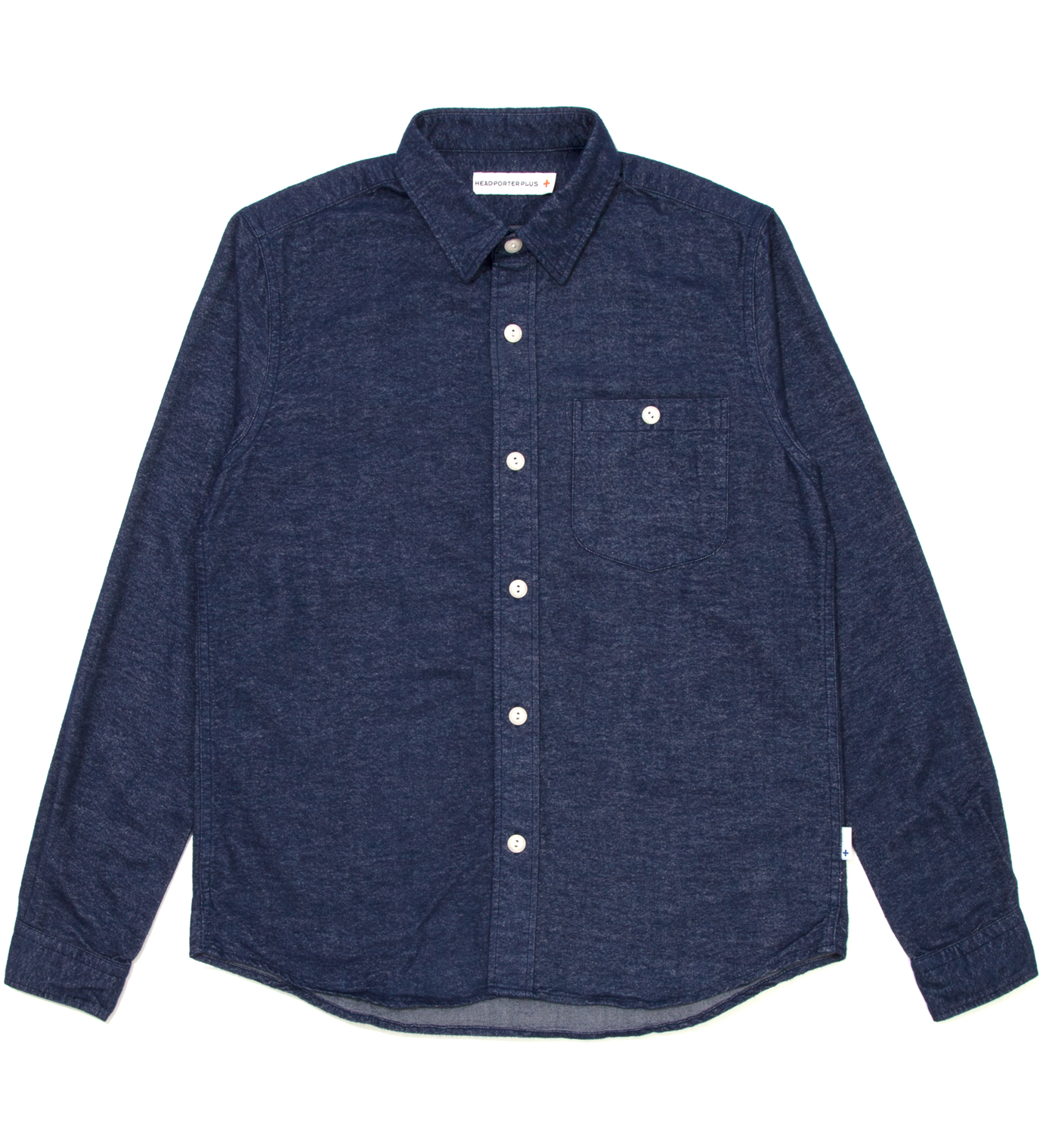 Head Porter Plus Navy Plane Nel Shirt