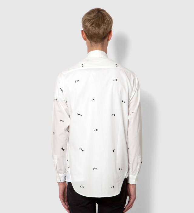 A.FOUR White Happy Accident Felix Culpa Mini Head Shirt