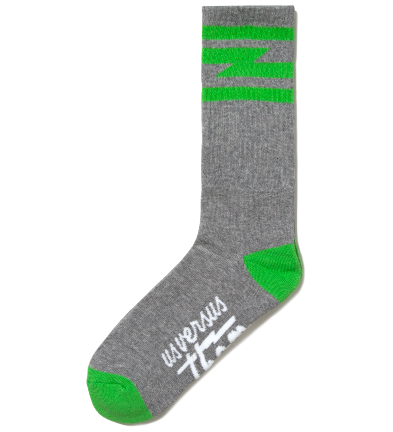 Us Versus Them Heather Grey Del Mar Crew Socks