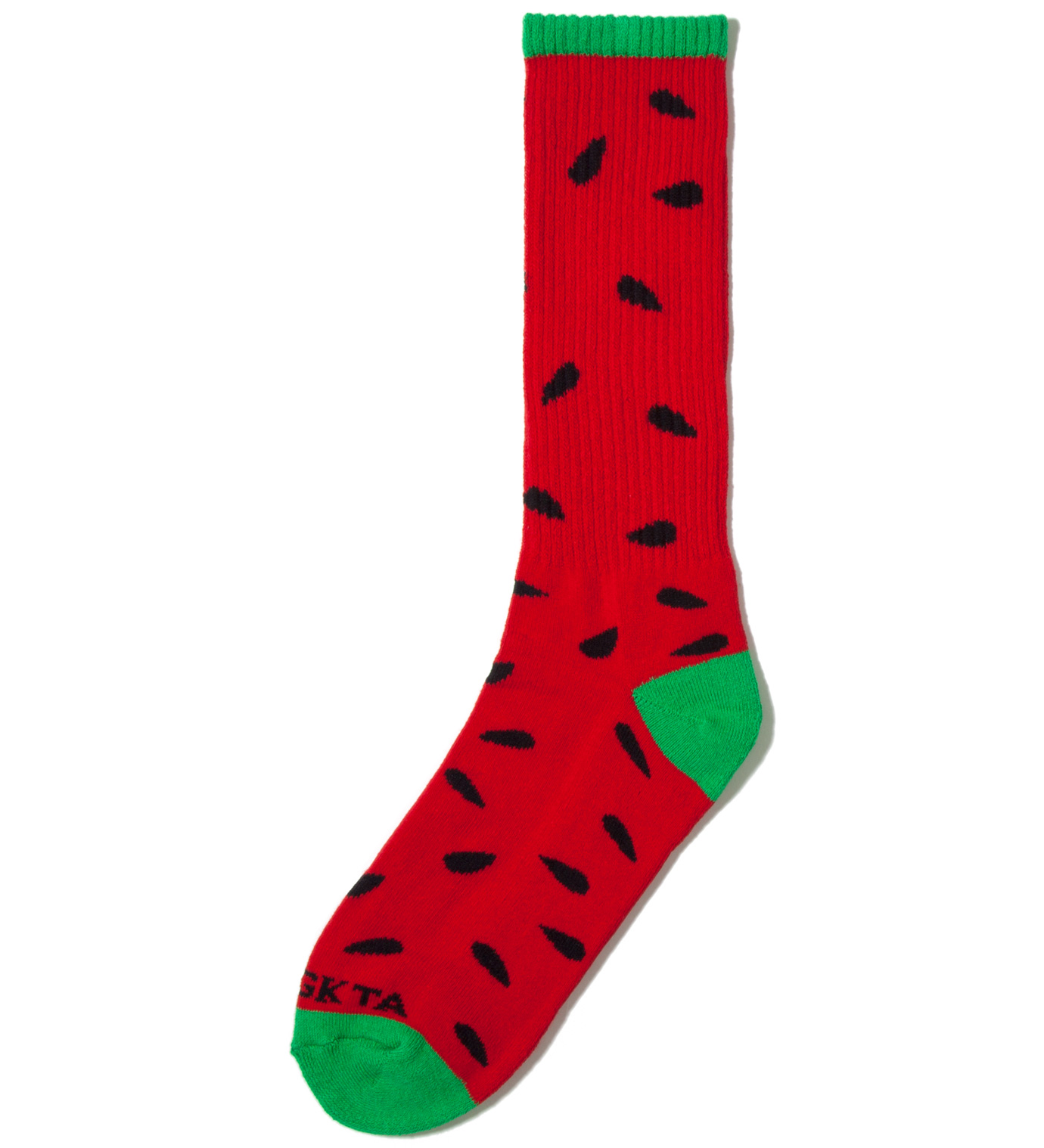Odd Future Red/Green Watermelon Sock