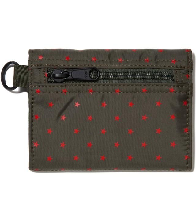 Head Porter Olive Stellar Wallet (M)