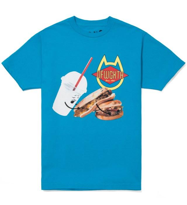 Odd Future Blue Shake, Hot Dog, Hamburger Summer 2012 T-Shirt