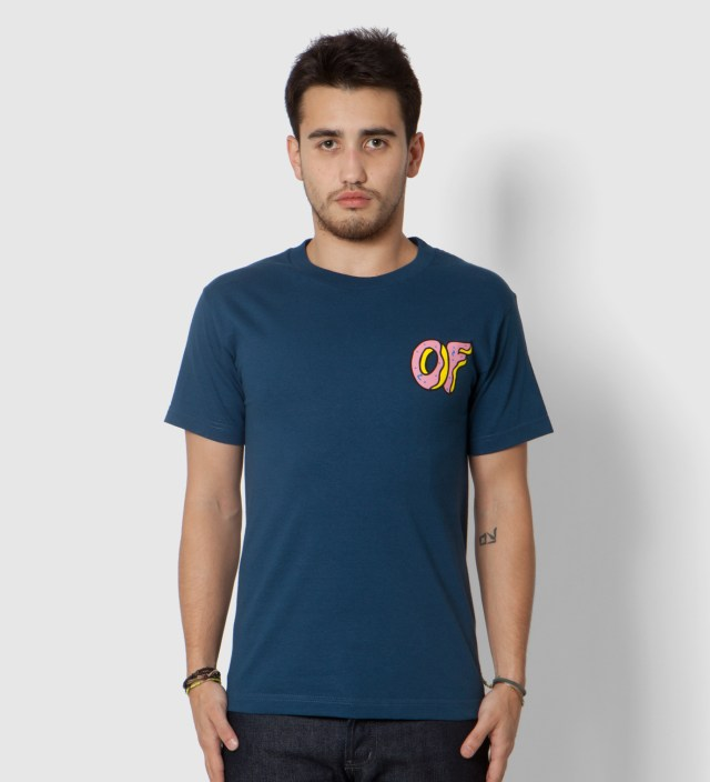 Odd Future Navy Pink OF Donut T-Shirt
