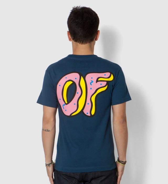 Odd Future Navy Pink OF Donut T-Shirt