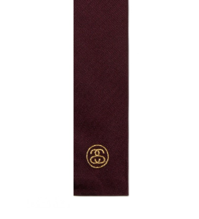 "BEDWIN & THE HEARTBREAKERS Stussy x The Heartbreakers Brown ""David"" Two-Ways Tie"