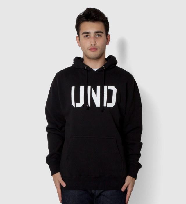Undefeated Black UND Hoodie