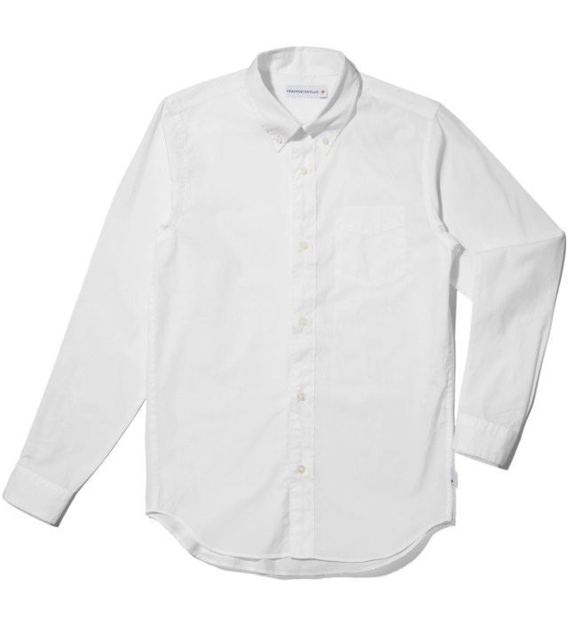 Head Porter Plus White Shirt