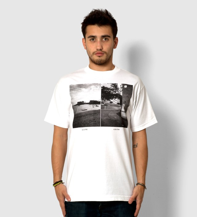 dertbag White Photo T-Shirt