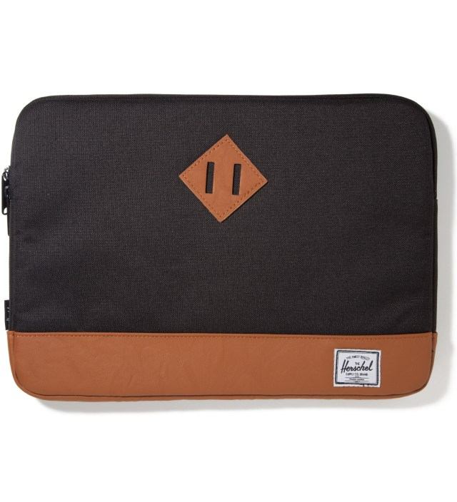 "Herschel Supply Co. Black Heritage 13"" Macbook Sleeve"