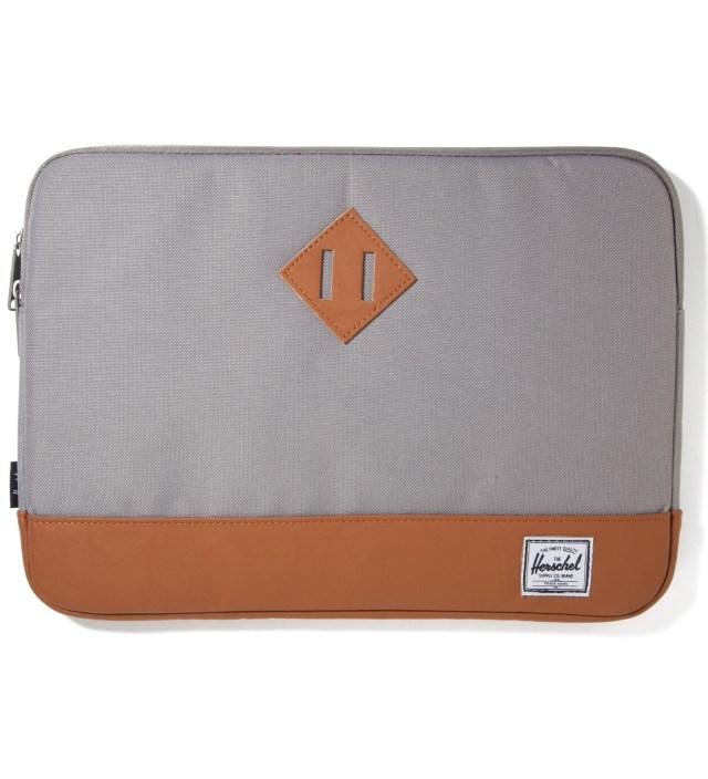 """Herschel Supply Co. Grey Heritage 13"""" Macbook Sleeve"""