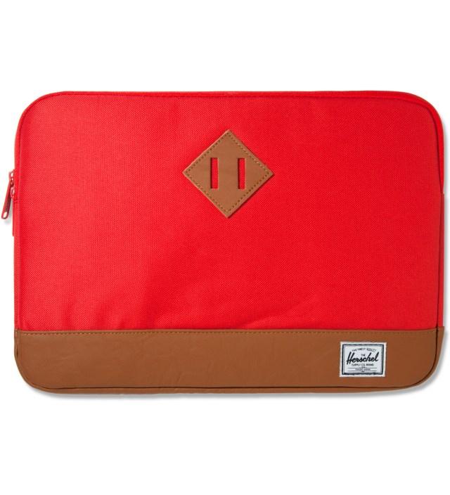 """Herschel Supply Co. Red Heritage 13"""" Macbook Sleeve"""