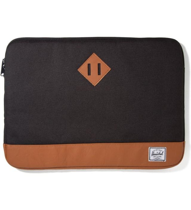 """Herschel Supply Co. Black Heritage 15"""" Macbook Sleeve"""