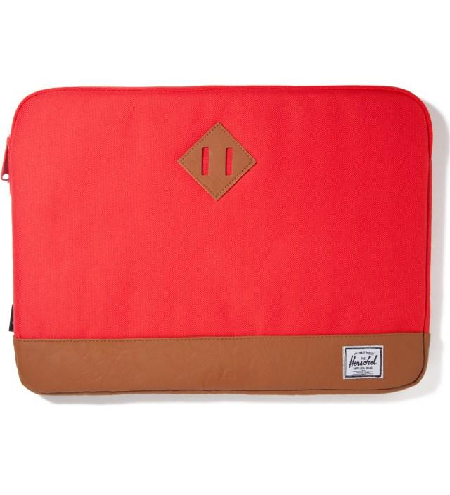 """Herschel Supply Co. Red Heritage 15"""" Macbook Sleeve"""