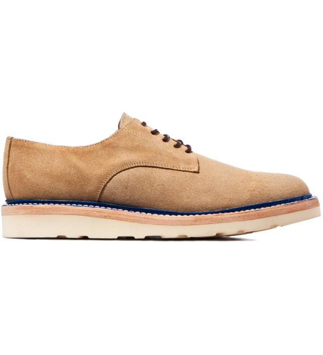IMIND IMIND x Caminando Beige Plain Toe Low Cut Shoe