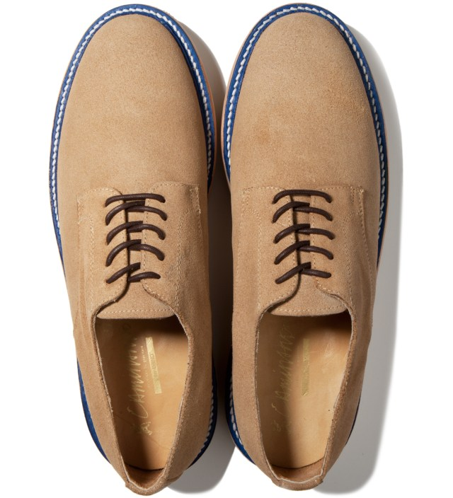 IMIND IMIND x Caminando Beige Plain Toe Low Cut Shoe