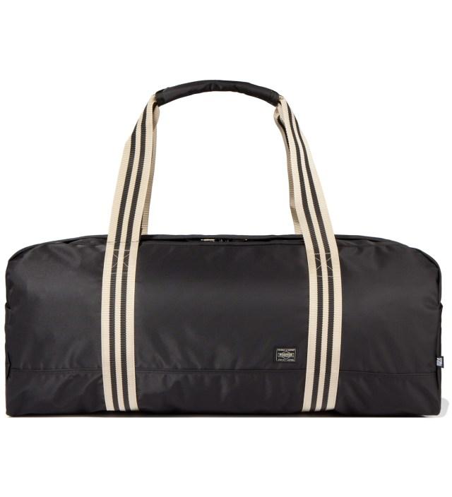 Head Porter Black Boston Bag (L)