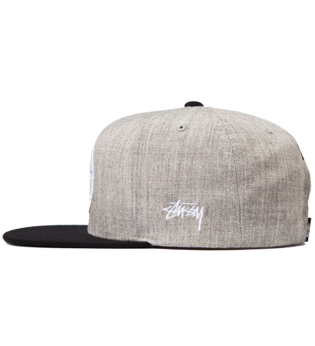 Stussy Heather Grey SS Link Starter Ballcap
