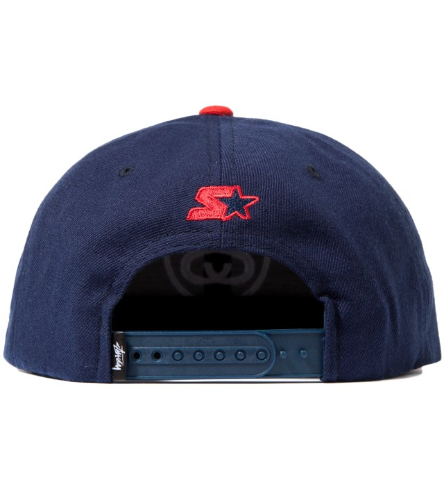 Stussy Navy SS Link Starter Ballcap