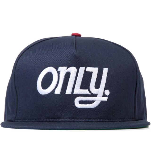 ONLY NY Navy OTB Snapback Cap